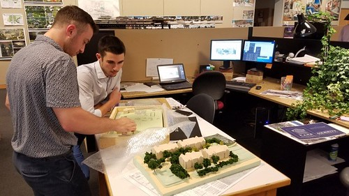 Welch works with Matt Cosma '15 (LA), landscape designer at S/L/A/M
