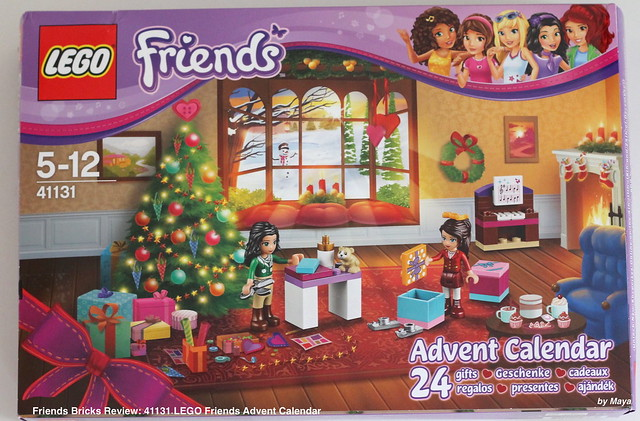 Weihnachtskalender Lego Friends.Lego Friends Adventskalender 2016