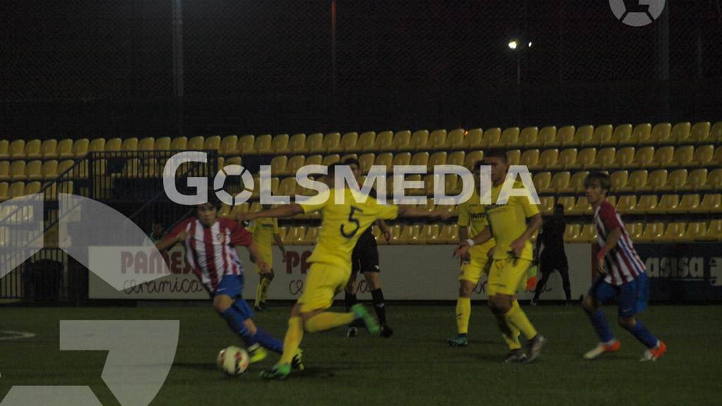 DH Juvenil. Villarreal CF 2-0 Atlético Madrileño (05/11/2016), Jorge Sastriques