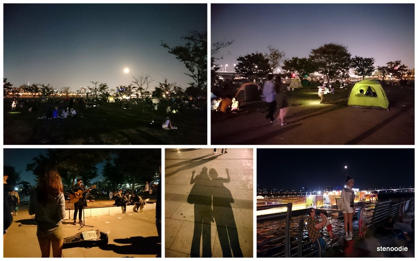 Hangang Park night market