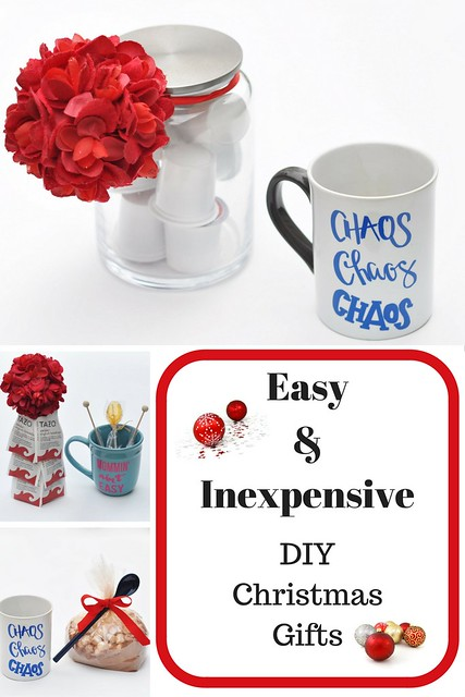 Easy & Inexpensive DIY Christmas Gifts