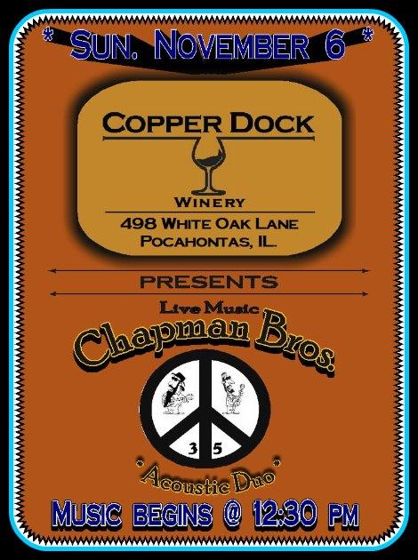 Chapman Bros 11-6-16