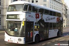 Wrightbus NRM NBFL - LTZ 1213 - LT213 - YouTube DT - Victoria 38 - Arriva London - London - 161126 - Steven Gray - IMG_4269