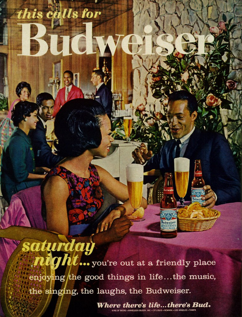 1963-this-calls-for-Budweiser-saturday-night