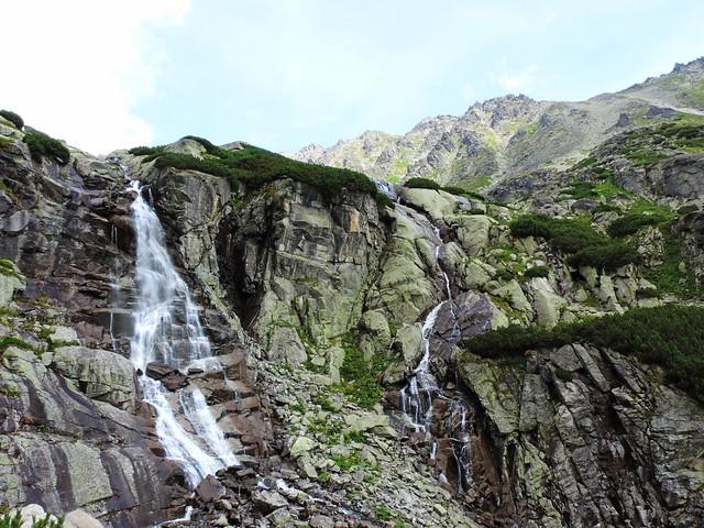Skok waterfall, Mylnická Valley, Slovakia