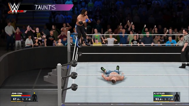 WWE 2K17 Taunts
