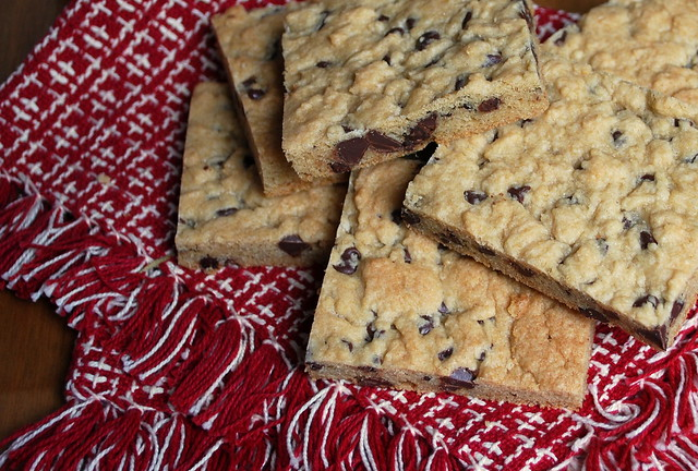 Soft batch chocolate chip bars 1