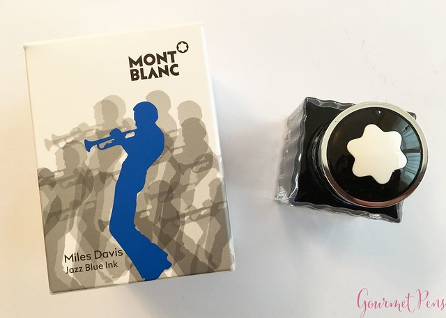 Ink Shot Review Montblanc Miles Davis Jazz Blue @couronneducomte  10