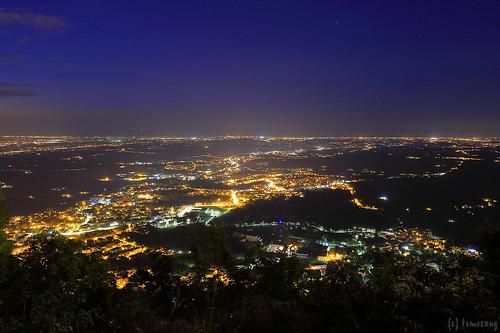 Repubblica di San Marino at night