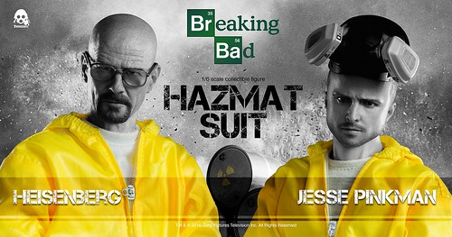 Heisenberg and Jesse Hazmat Suit Combo