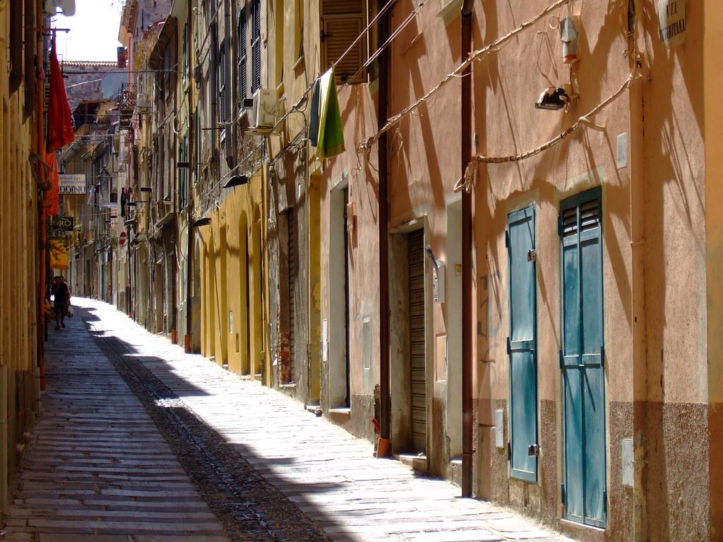 A hot day in Sassari, Sardegna