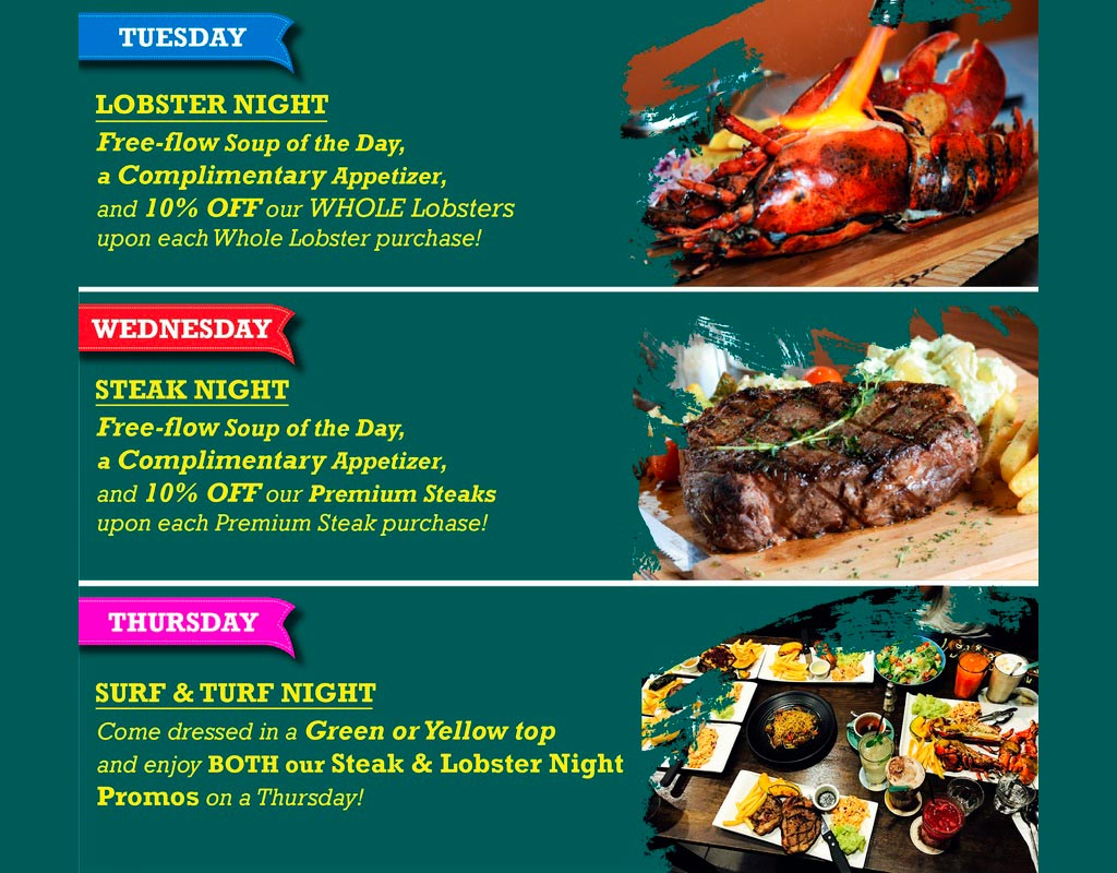 Steaks-&-Lobsters-Weekday-Special-Menu