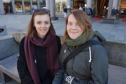 Marie og Oda foto EliseLøvereide
