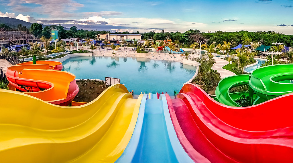 Palawan Waterpark_Velocity and Vortex Aqua Slides