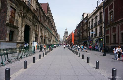 Calle en Ciudad Mexico