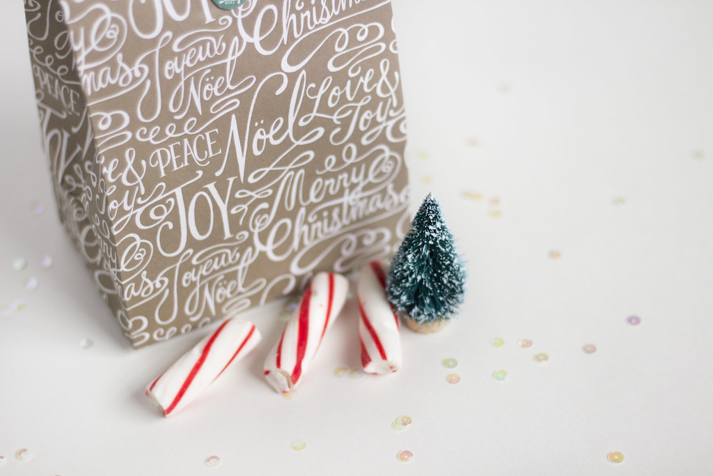 peppermint cookie gift