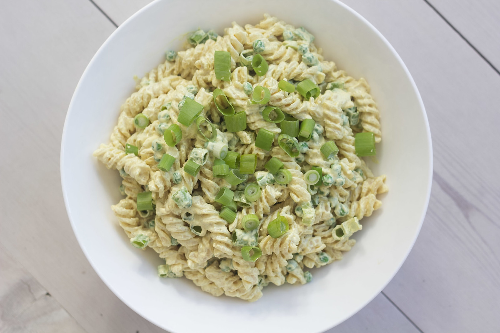 Recipe for Homemade Creamy Curry pasta