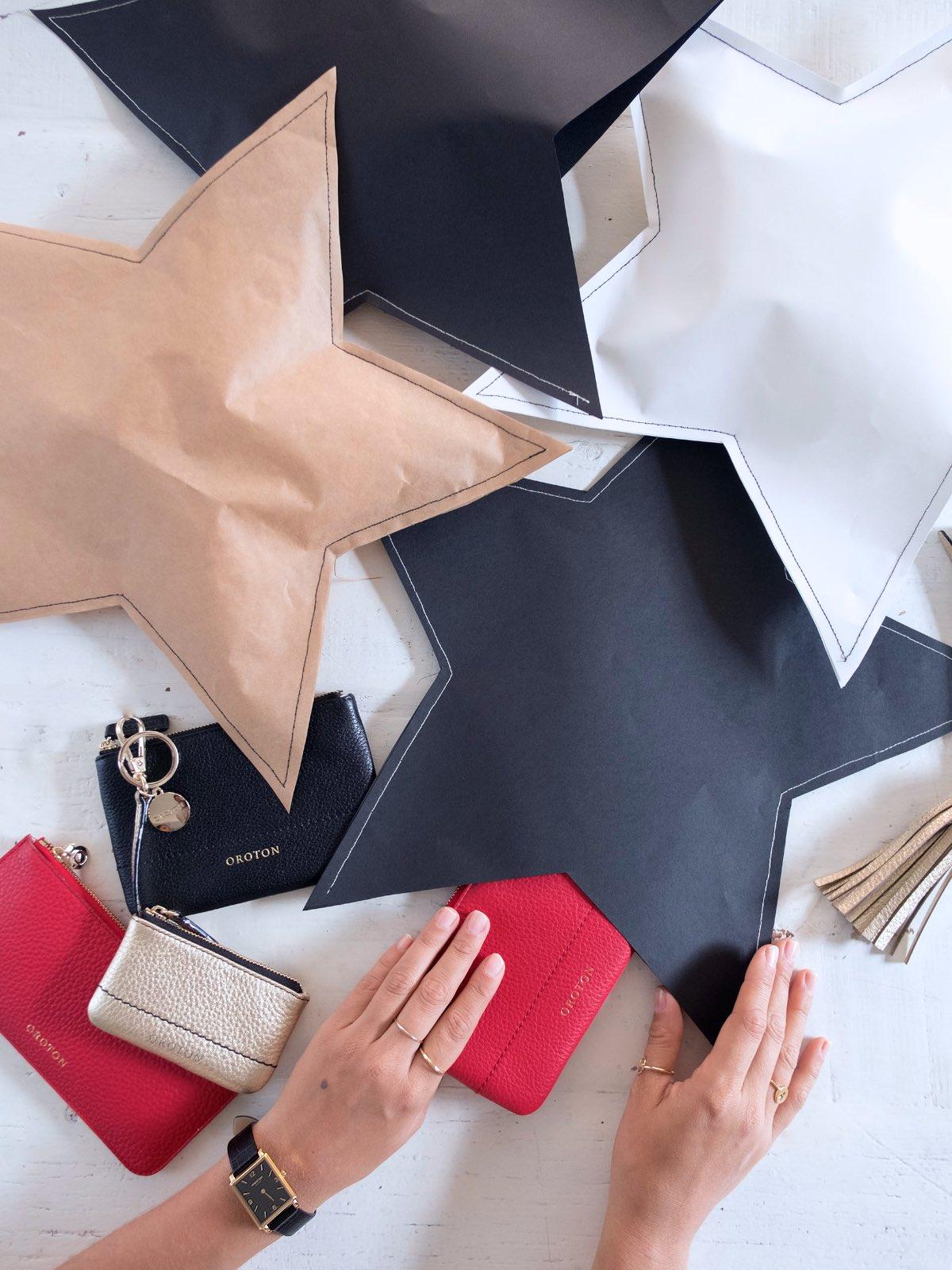 2 Creative Gift Wrapping Ideas - DIY Sewn Stars