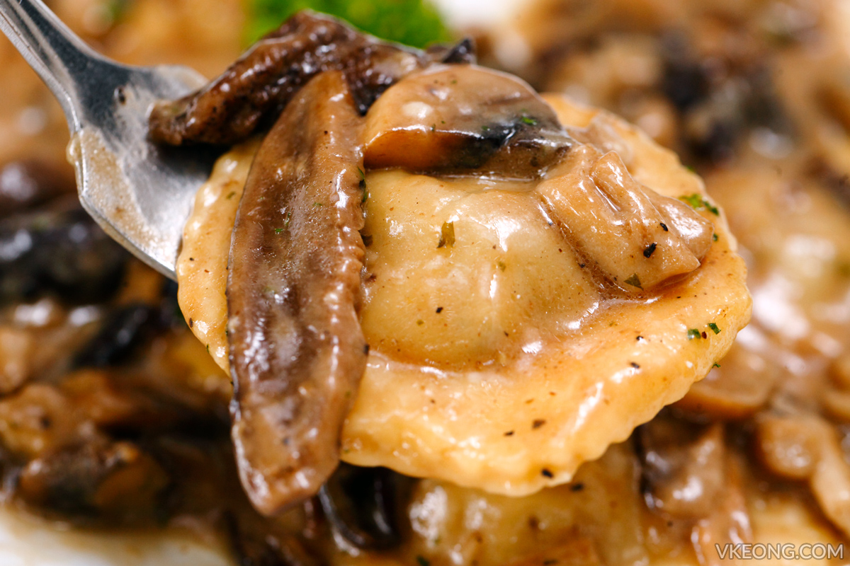 Neroteca Braised Beef Ravioli Pasta