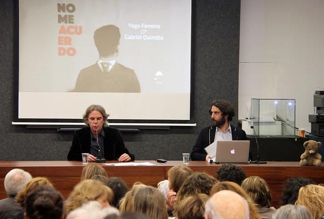 NO ME ACUERDO - PRESENTACIÓN DEL LIBRO DE GABRIEL QUINDÓS & YAGO FERREIRO PUBLICADO POR MR GRIFFIN - 17.11.16 LEÓN