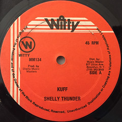 SHELLY THUNDER:KUFF(LABEL SIDE-A)