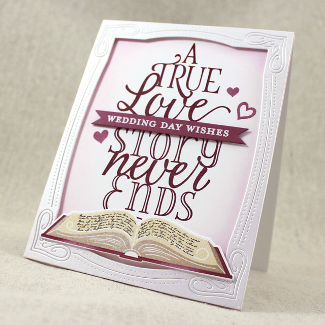 True Love Story Card Angle