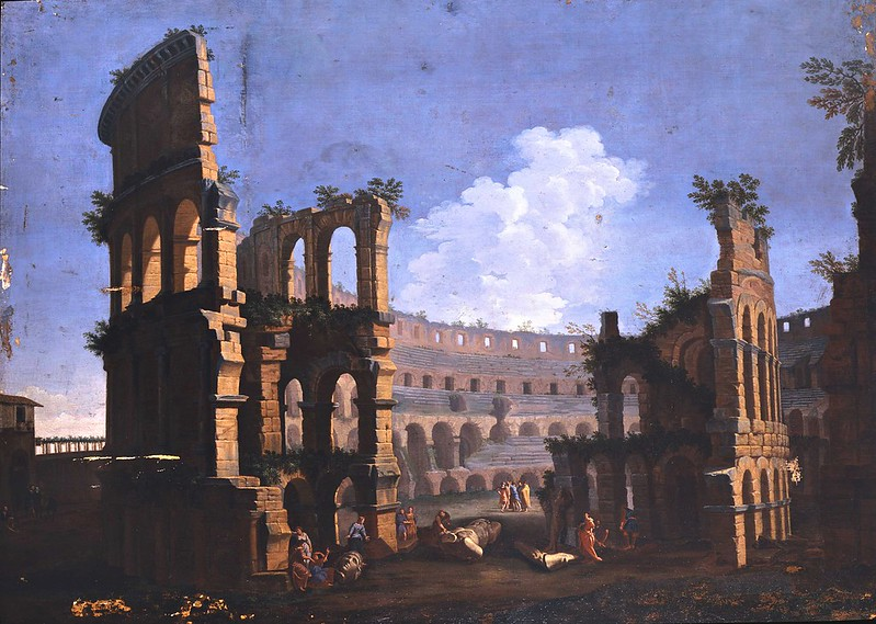 Andrea Locatelli - Veduta del Colosseo