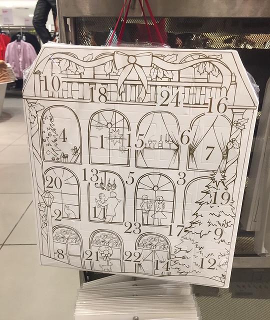 calendário de Natal H&M