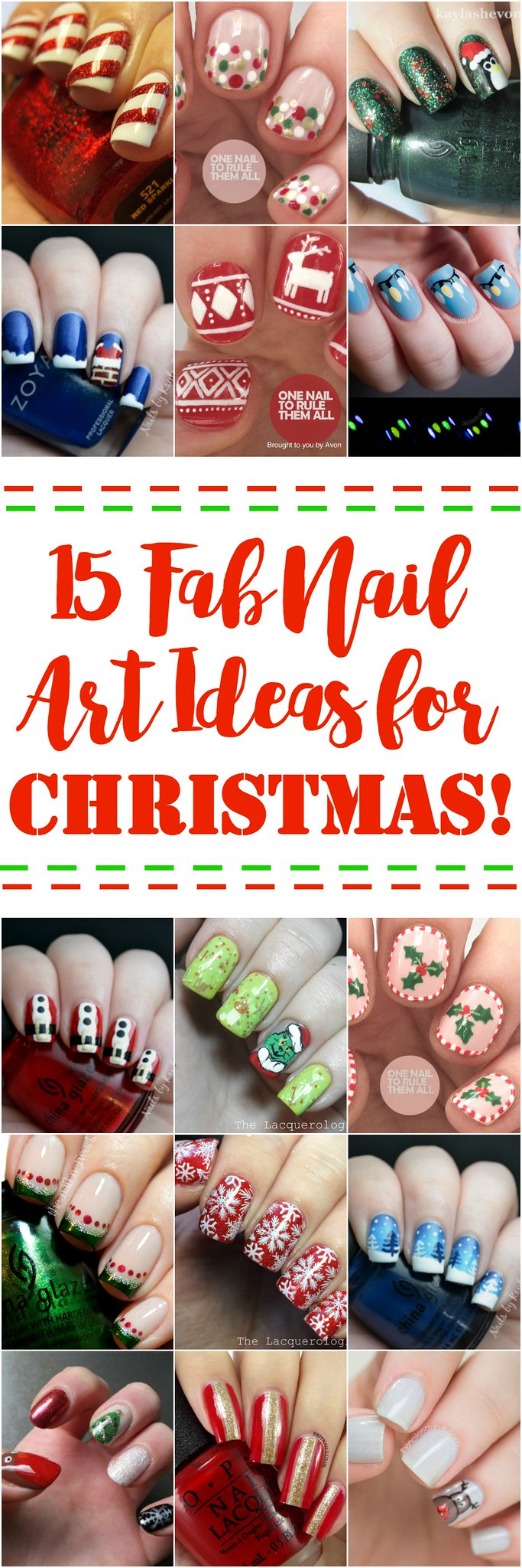 15 Fab Nail Art Ideas For Christmas