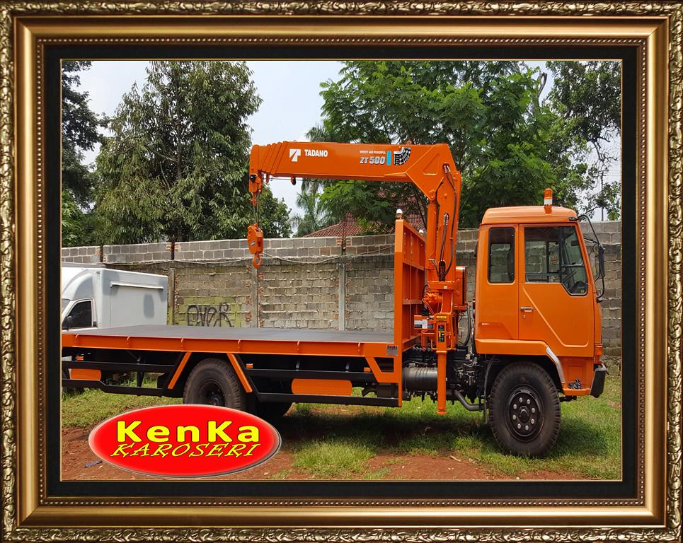 Karoseri Truck Crane - 8e13