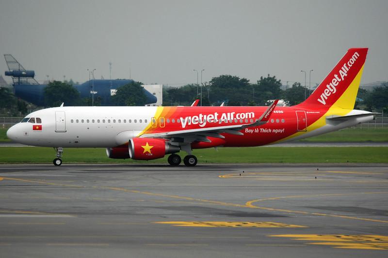 VietJet Air | Airbus A320-200 | VN-A696 | Bangkok Suvarnabhumi