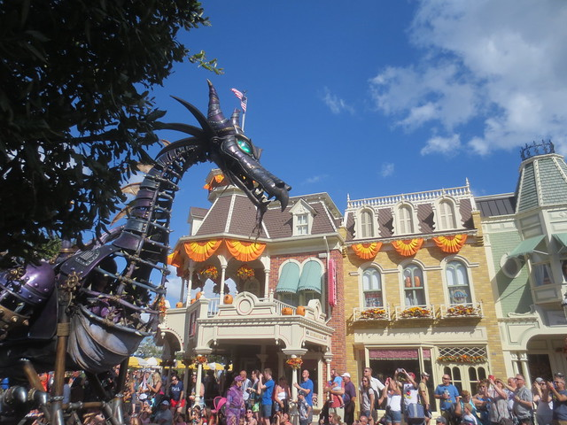 There's a dragon on Main Street