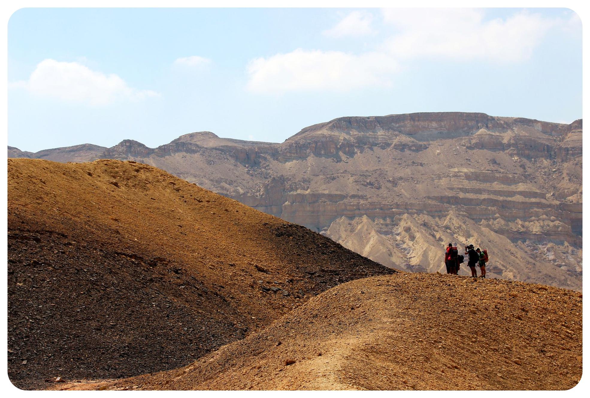 makhtesh katan hikers israel