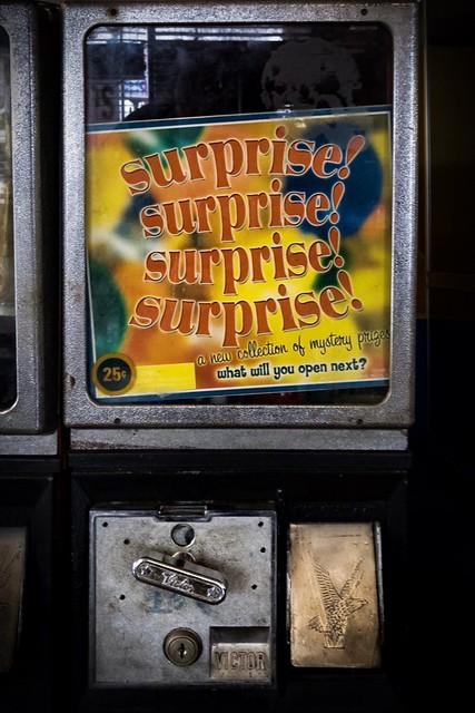 (365/366) 25¢ Surprise