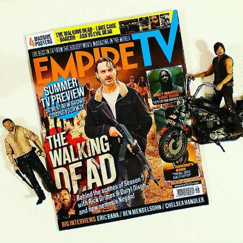 Are....you.....ready?!!!! Oct 24 couldn't come any sooner...... #amc #thewalkingdead #tvseries #robertkirkman #season7 #october2016 #empiretvmagazine