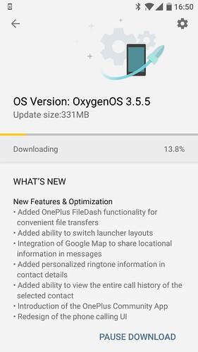OxygenOS 3.5.5