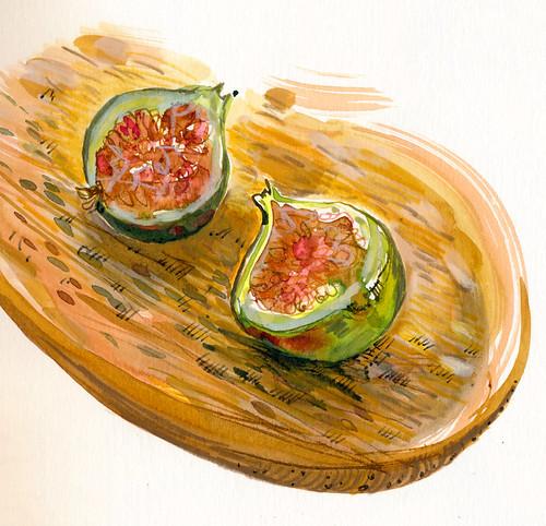 Sketchbook #100: Figs