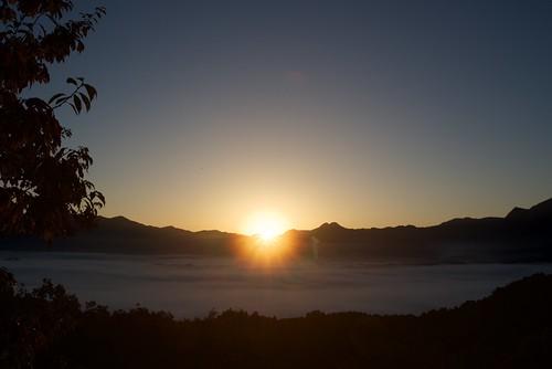 雲海日の出