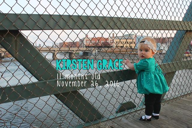 Kirsten Grace Month 11