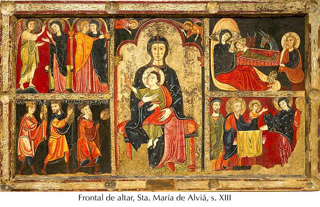 Frontal altar - Sta. Mª de Alviá, s. XIII