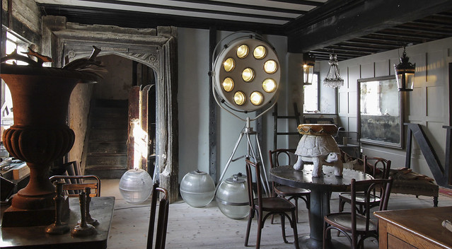 Alex MacArthur Interiors, new showroom - The Monastrey, Rye