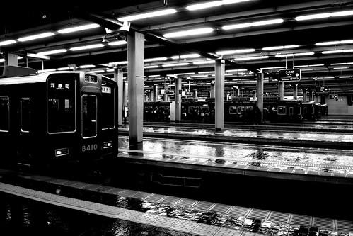 Umeda Station, Osaka on NOV 29, 2016