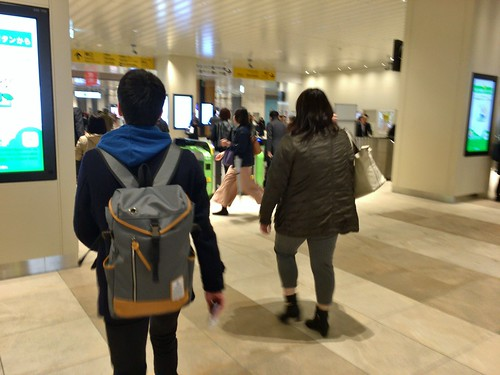 JR Chiba Station refurbishment 2016-04
