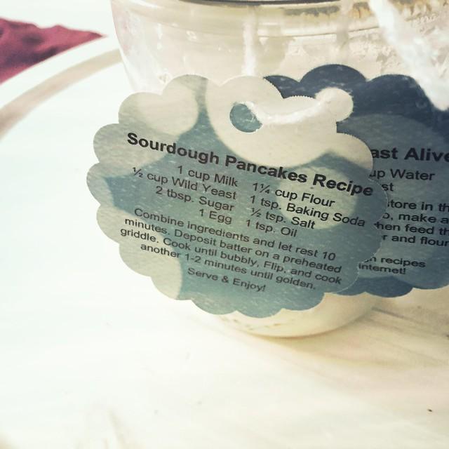 Wild Yeast Sourdough Starter Gift Jars