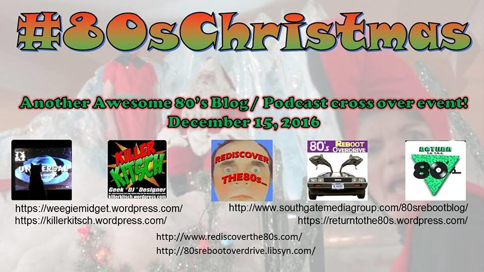 #80sChristmas Blog Podcast