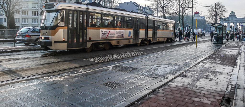 TRAM 81 [BRUSSELS TRAM SERVICE]-123743
