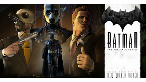 Batman: The Telltale Series Episode 3 Walkthrough