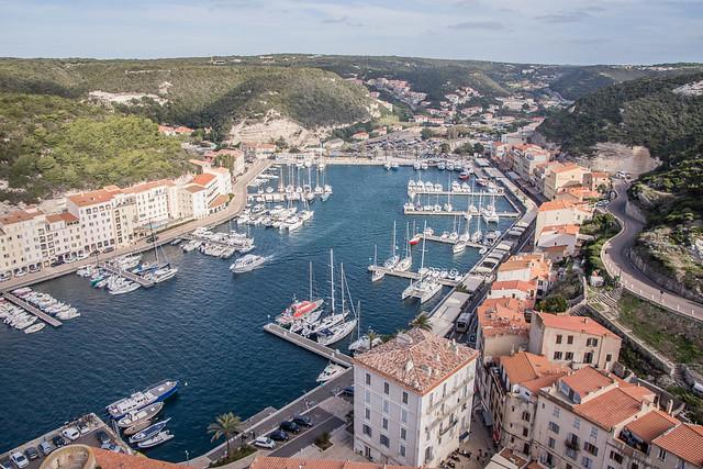 Bonifacio harbor