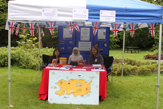 Duck Derby Fundraising Stall