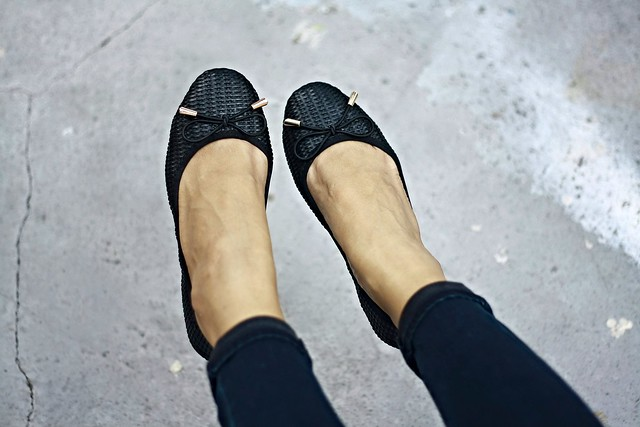 foldable flats, sammydress shoes,